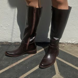 Matisse Brown riding boots